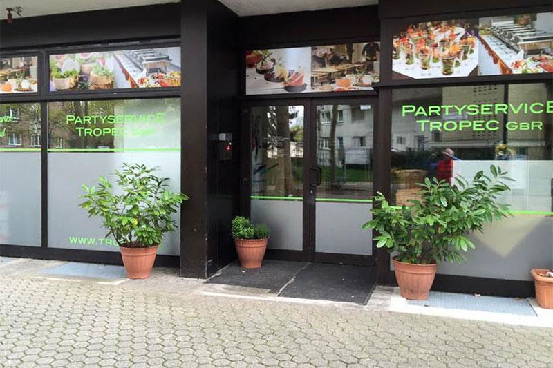 Geschäftsräume des Partyservices TROPEC aus Troisdorf